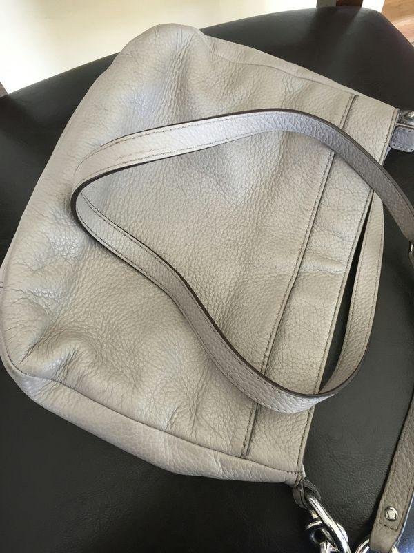 Michael kors crossbody purse (gray)