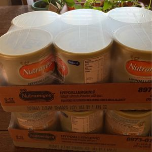 12 Cans Nutrimigen Baby Formula for Sale in Manteca, CA