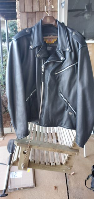 Harley Davidson Classic leather Jacket. Like New XXL for Sale in Pine Lake, GA