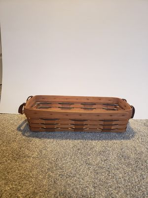 Longaberger handwoven bread basket for Sale in Wernersville, PA