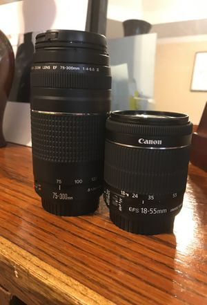 Canon Dslr lens for Sale in Stone Mountain, GA