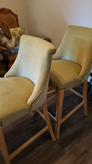 A pair of bar stools for Sale in Houston, TX