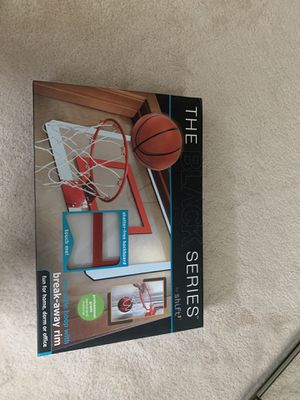 Basketball pro style hoop with break away rim for Sale in Chicago, IL