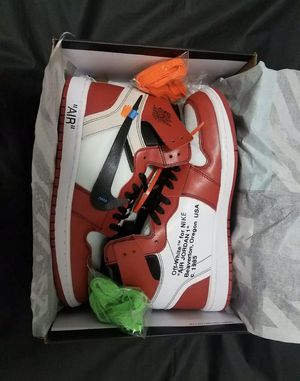 air jordan 1 Off White Red Size 11 for Sale in Antioch, CA