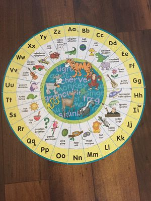 LEARN ALPHABETS WITH PUZZLE FUN for Sale in Scottsdale, AZ