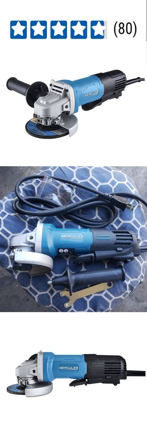 Corded 4-1/2 In. 11 Amp Professional Paddle Switch Angle Grinder Powerful 11 Amp motor delivers 11,000 RPM for Sale in City of Industry, CA