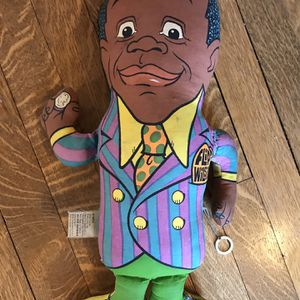 Vintage 1970 FLIP WILSON & GERALDINE 2-Sided Plush Doll MUTE for Sale in Seattle, WA
