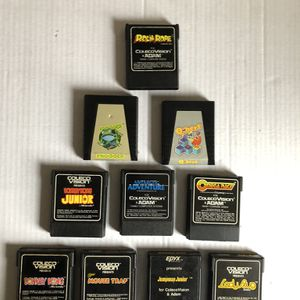 Colecovision 10 Games Lot for Sale in Riverhead, NY