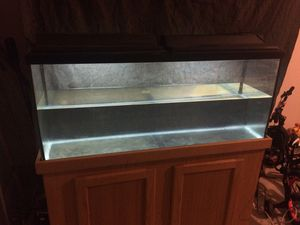 55 gallon fish tank and stand for Sale in Fort Meade, MD