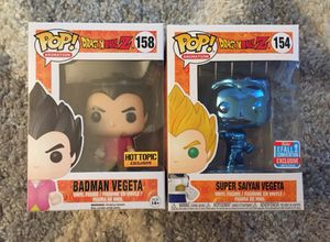 Vegeta DBZ Funko Pop Lot ! for Sale in San Diego, CA