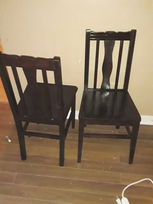 Antique wooden chairs. for Sale in Wichita, KS