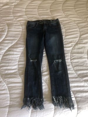 Fringe jeans for Sale in Santa Clara, CA