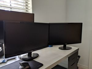 23 inch led backlit monitors for Sale in Dallas, TX