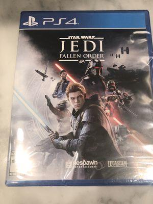 Star Wars Jedi Fallen Order PS4 for Sale in Fort Lauderdale, FL