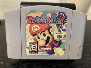 Nintendo 64 n64 Mario party authentic game for Sale in Itasca, IL