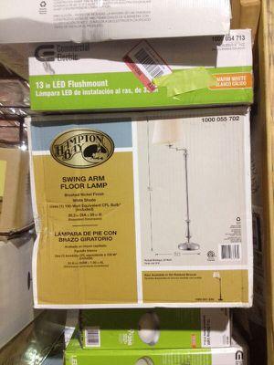 Hampton Bay swingarm floor lamp for Sale in Phoenix, AZ