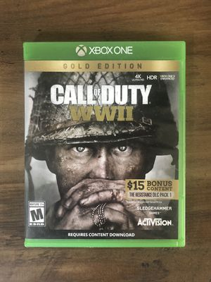 Call of Duty: WWll Xbox one for Sale in Queen Creek, AZ