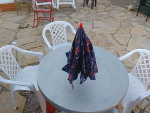 Patio table, chairs and umbrella for Sale in Tucson, AZ