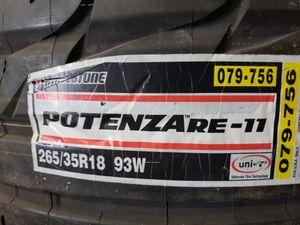 Bridgestone 265/35R18 new tire come and get it $60.00 for Sale in Miami, FL