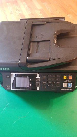 Epson WF 3620. Printer, copy and fax for Sale in La Vergne, TN