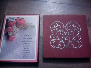 Dream and heart decor for Sale in Bangor, ME