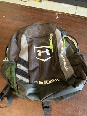 Baseball/Softball Backpack. Kids Size. Under Armour Storm. for Sale in Rancho Cucamonga, CA