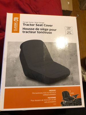 Classic Accessories Lawn Tractor Neoprene Seat Cover, Medium for Sale in Lynwood, CA