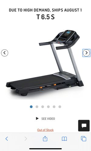 NORDICTRACK T SERIES 65S TREADMILL brand new for Sale in Phoenix, AZ
