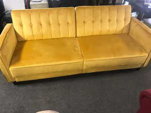 Gold futon for Sale in Chapin, SC