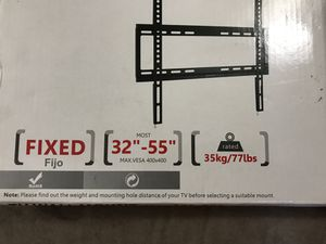 TV wall mount - sturdy and fits most TVs for Sale in Tigard, OR
