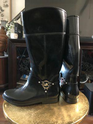 Michael Kors rain boots size 9 for Sale in Philadelphia, PA