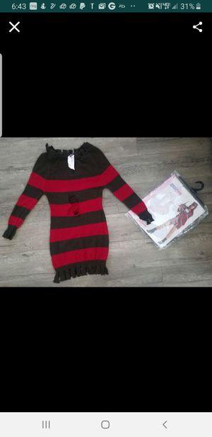 Freddy Kruger Dress for Sale in San Bernardino, CA