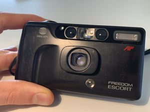 Minolta Freedom Escort 35mm point and shoot Film Camera for Sale in Glendale, CA