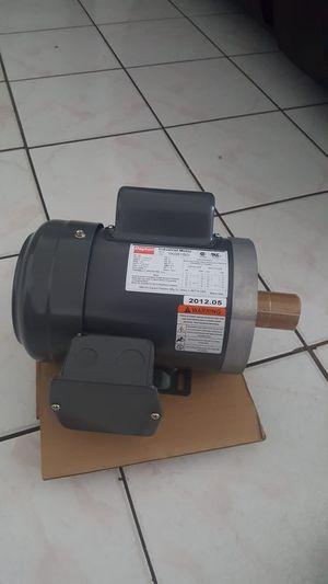 Dayton industrial motor,new 3/4 nuevo for Sale in Miami, FL