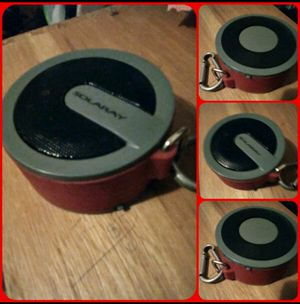Like New Red SolorRay Portable Bluetooth Speaker for Sale in Lexington, KY