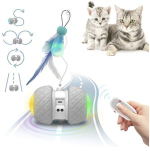 Smart Interactive Cat Toys - Cat/Kitten Pet Entertainment Hunting Exercise Toys- Robotic and Remote Control Mode for Sale in Rancho Cucamonga, CA