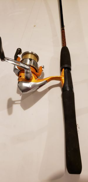 4 Open face fishing reals/rods with Accessories for Sale in Douglasville, GA