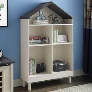 Wheathered White Doll Cottage Bookcase (2 Colors) for Sale in Anaheim, CA