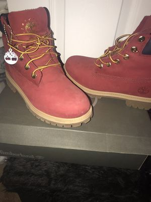 Red Timberland Boots for Sale in Clarksville, TN
