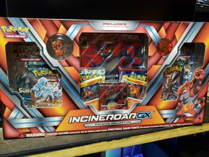 Pokemon Incineroar GX Premium Collection for Sale in Compton, CA