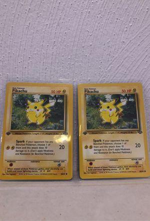 Pokemon 1st Edition Pikachu for Sale in Norfolk, VA