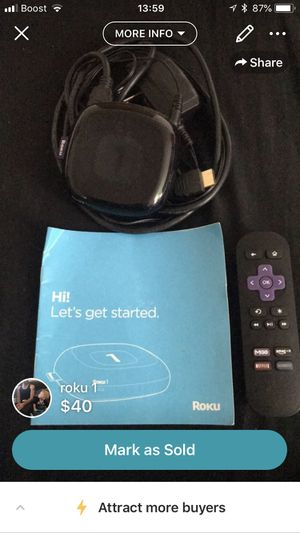 Roku 1 for Sale in Portland, OR