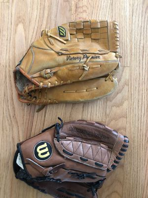 Baseball and Softball gloves for Sale in Glenview, IL