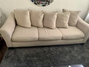 Sofa and couch .. 17 and half long for Sale in Miami, FL