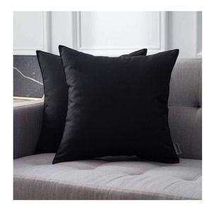 2 Outdoor Waterproof Pillowcases- Black for Sale in Litchfield Park, AZ