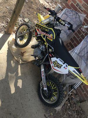 2007 Suzuki 2 stroke 5 gears fun bike !!!No title! Bill of sale!! for Sale in Alexandria, VA