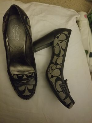 Black Coach Heels for Sale in St. Louis, MO