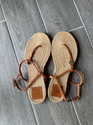 Tory Burch sandals size 9 for Sale in Long Beach, CA