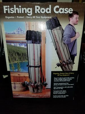 Fishing rod case for Sale in Conroe, TX