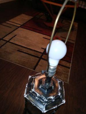 Antique mirroe lamp for Sale in Wichita, KS
